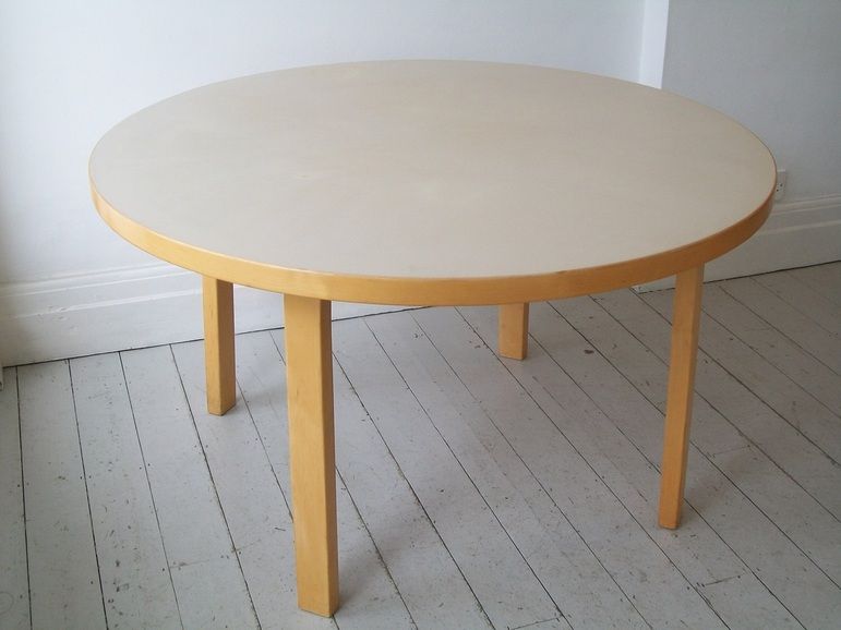 ALVAR AALTO Table By Artek Finland. £330 Ringmark And A Few Other Small  Blemishes To The Top But Generally Very Good.